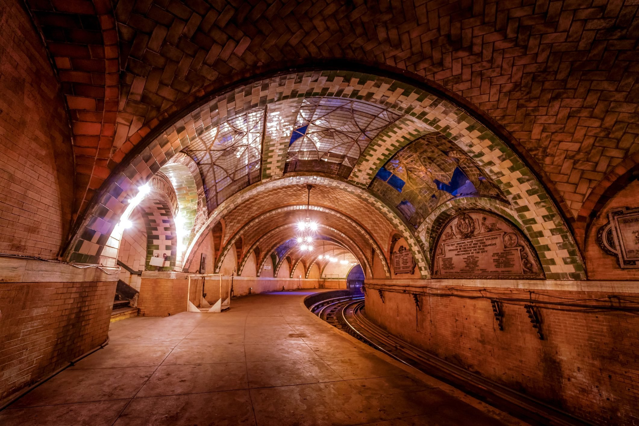 The abandoned Metro Station - NYC