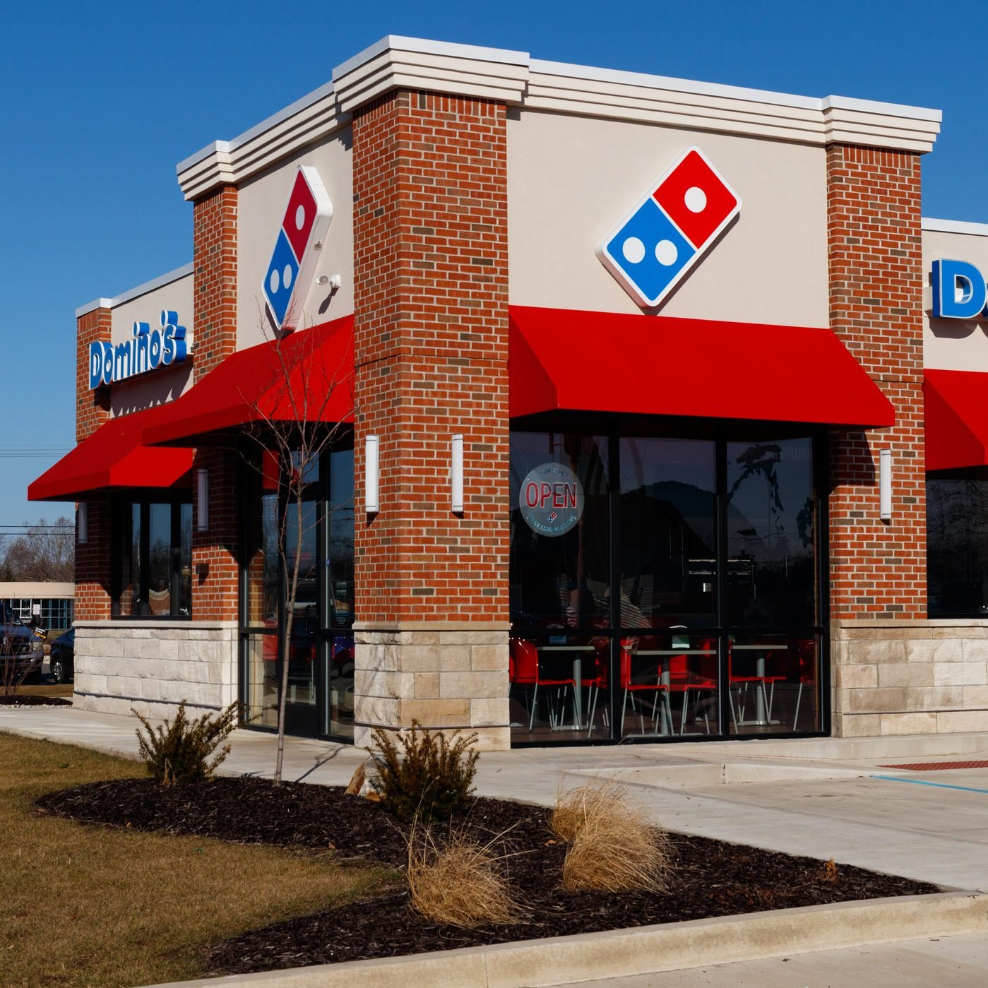 Domino's Pizza Carryout Restaurant. Dominos is consistently one of the top five companies in terms of online transactions II