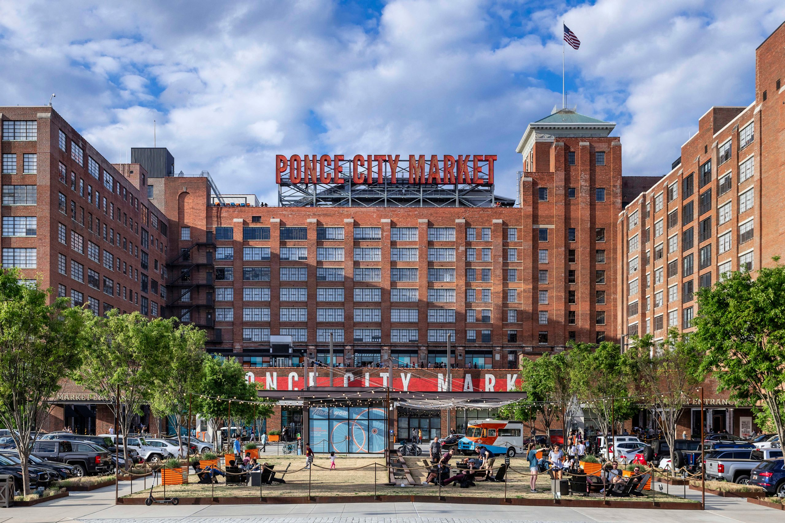 Exterior of Ponce City Market...