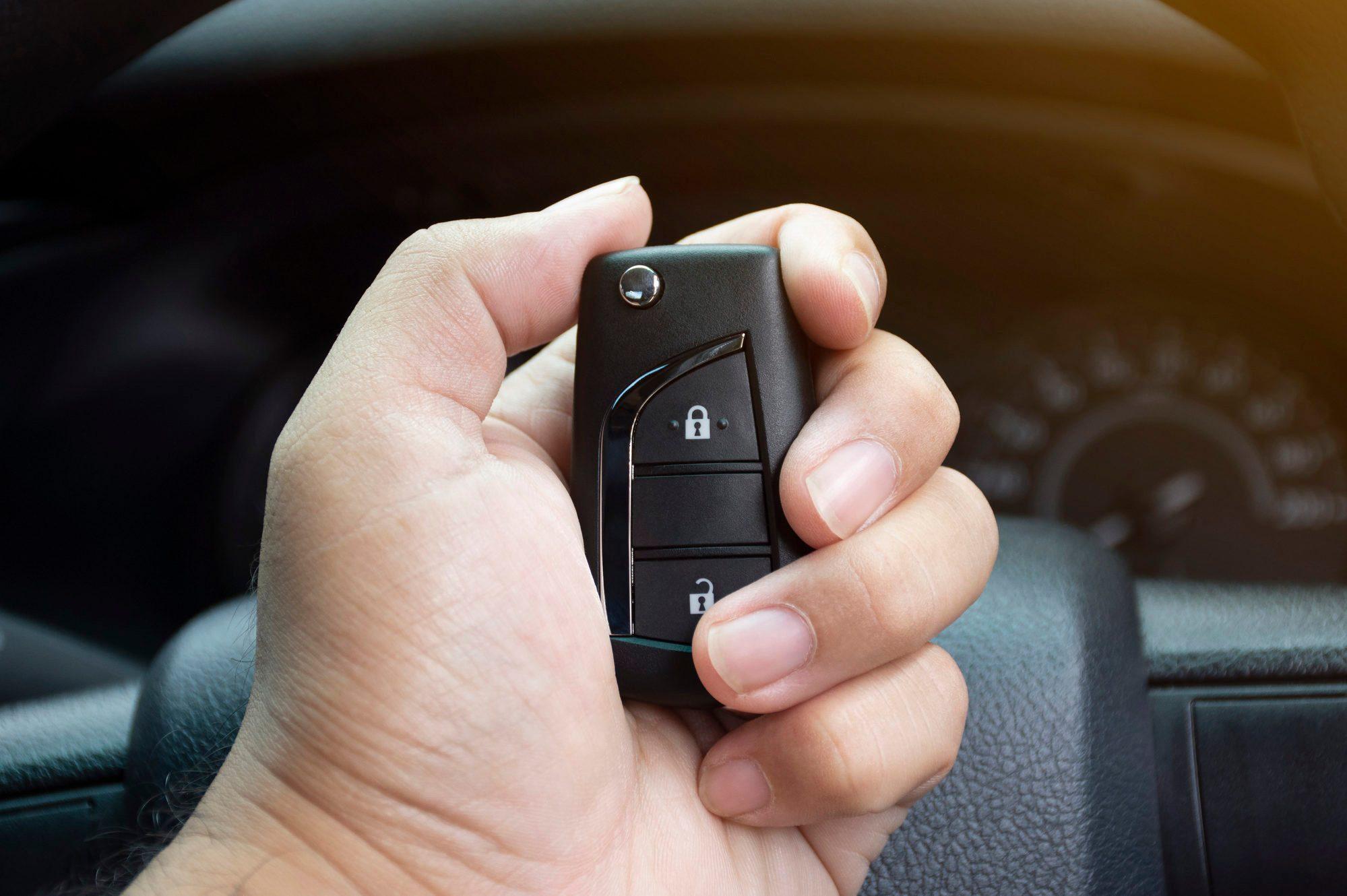 Car keyless remote.