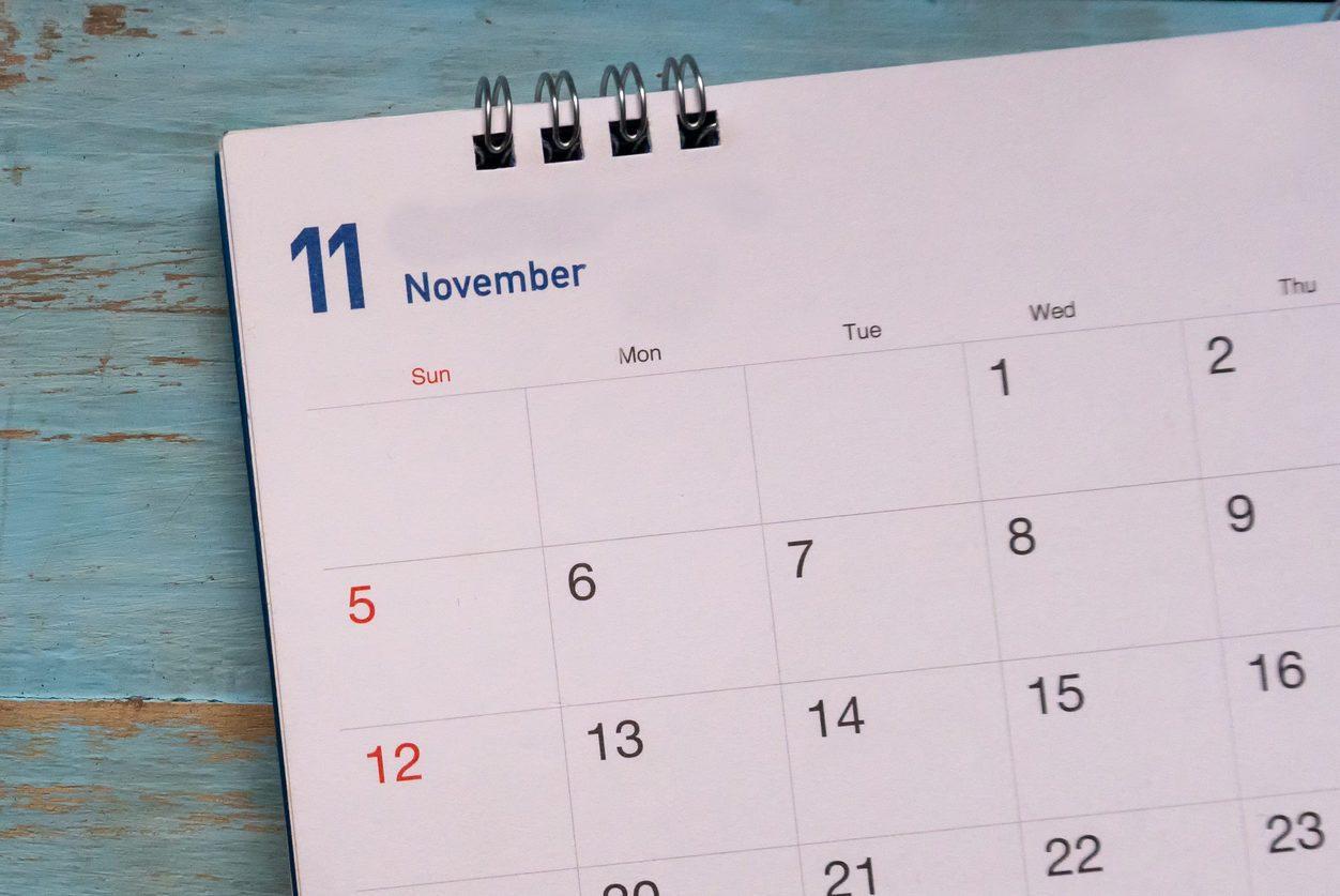 Calendar Background Concept.