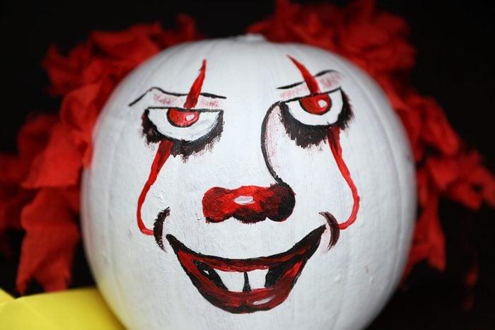 Clown pumpkin