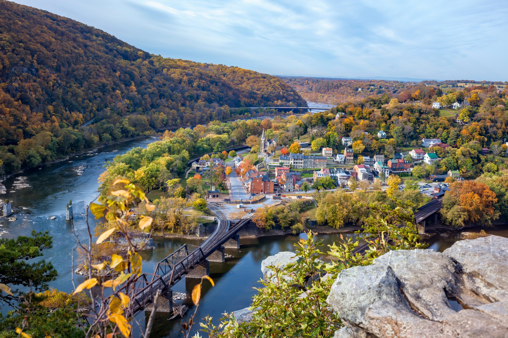Dawn at Harpers Ferry, View From Maryland Heights