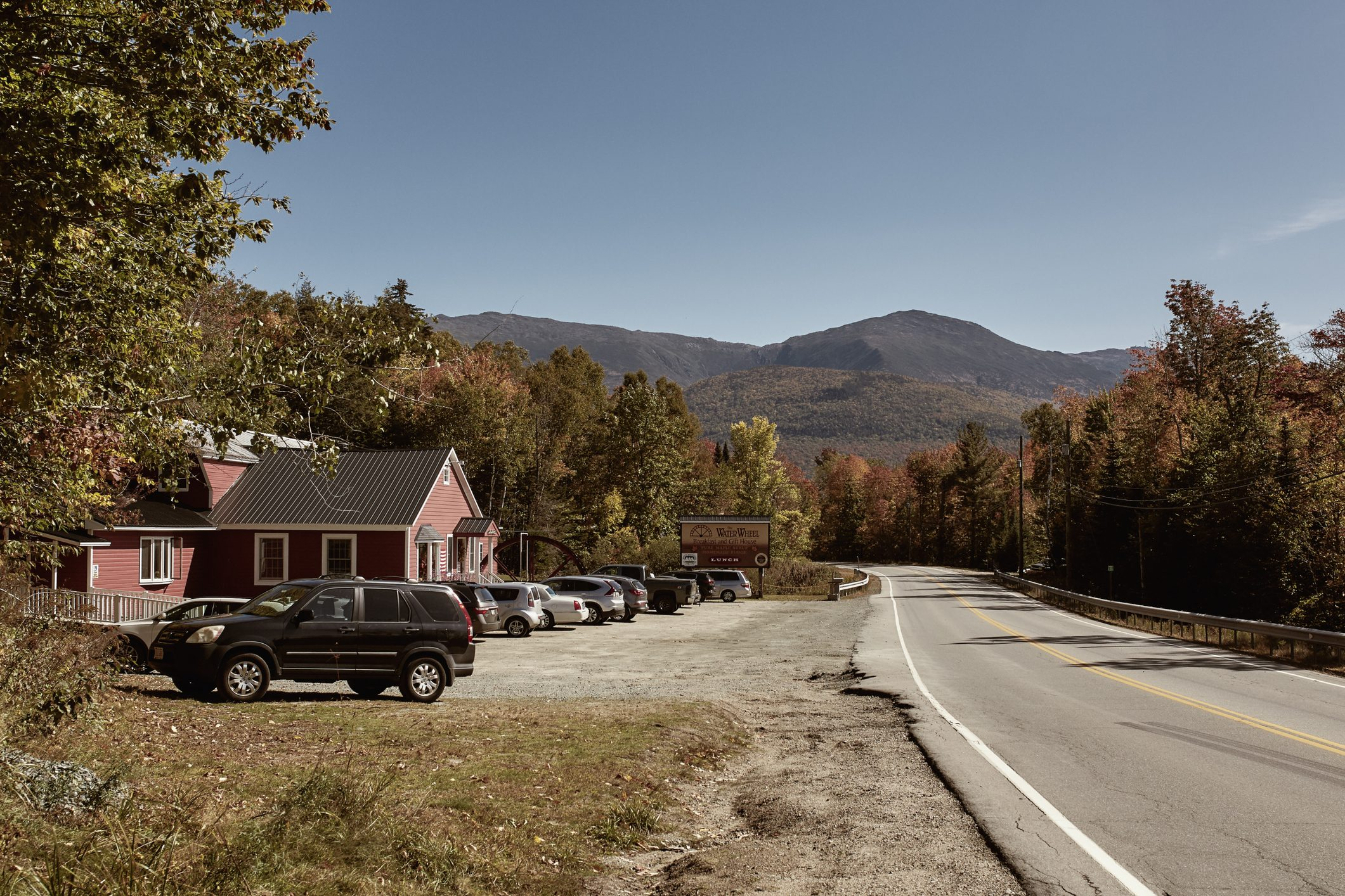 New England Road Trip in the Fall