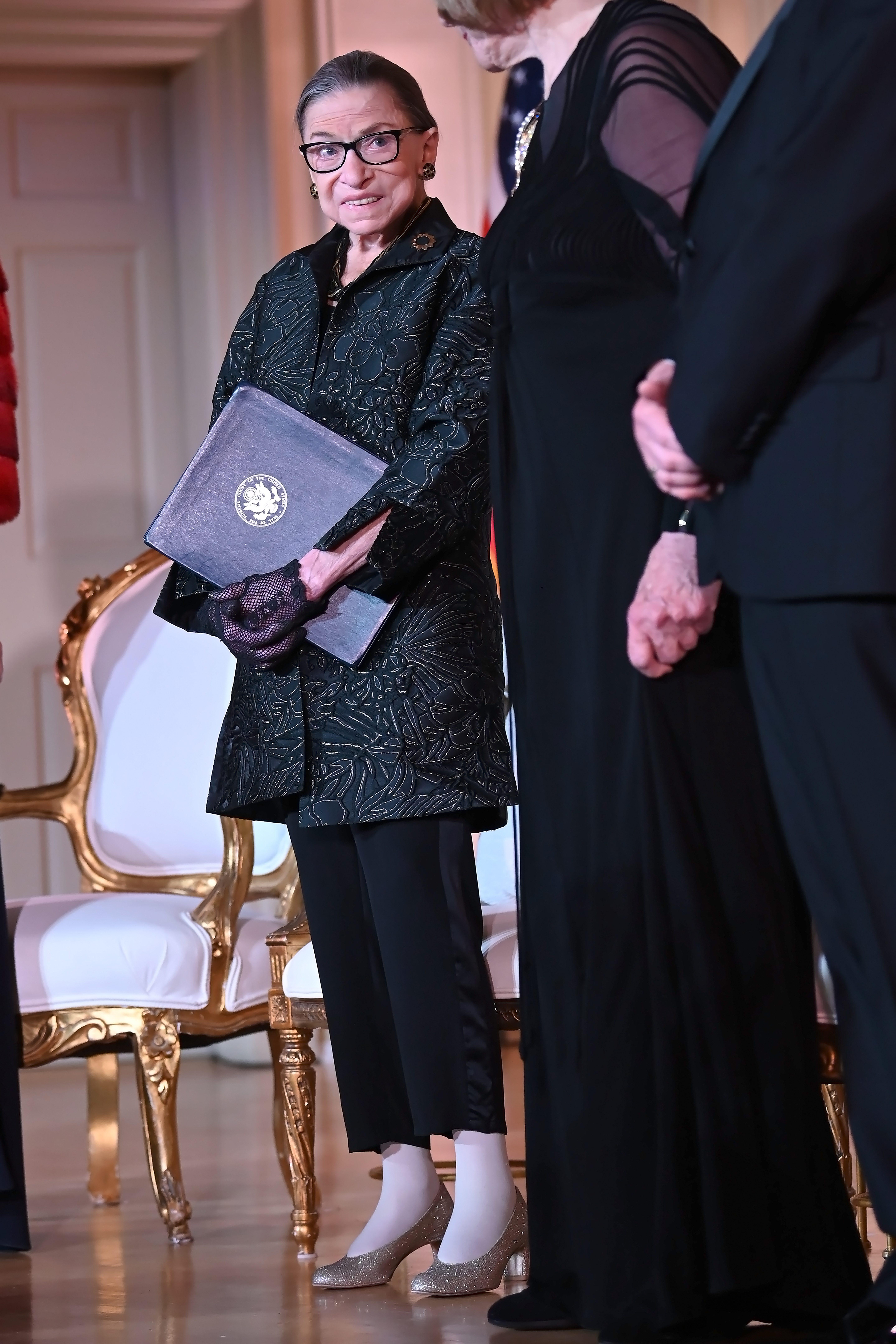 Justice Ruth Bader Ginsburg Presents Inaugural Woman Of Leadership Award To Agnes Gund