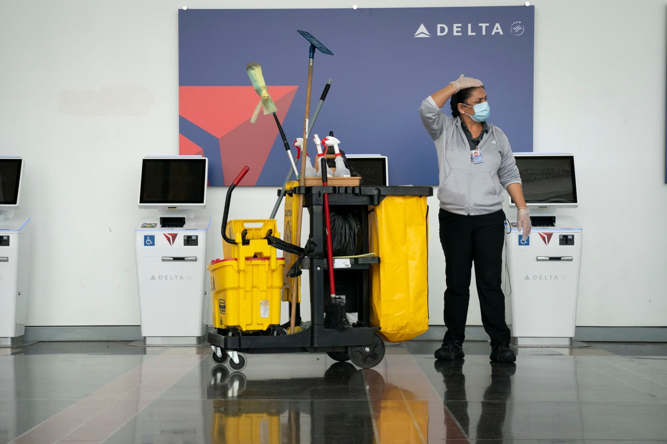 Airlines Begin Requiring Passengers To Wear Masks On Planes To Prevent Spread Of Coronavirus