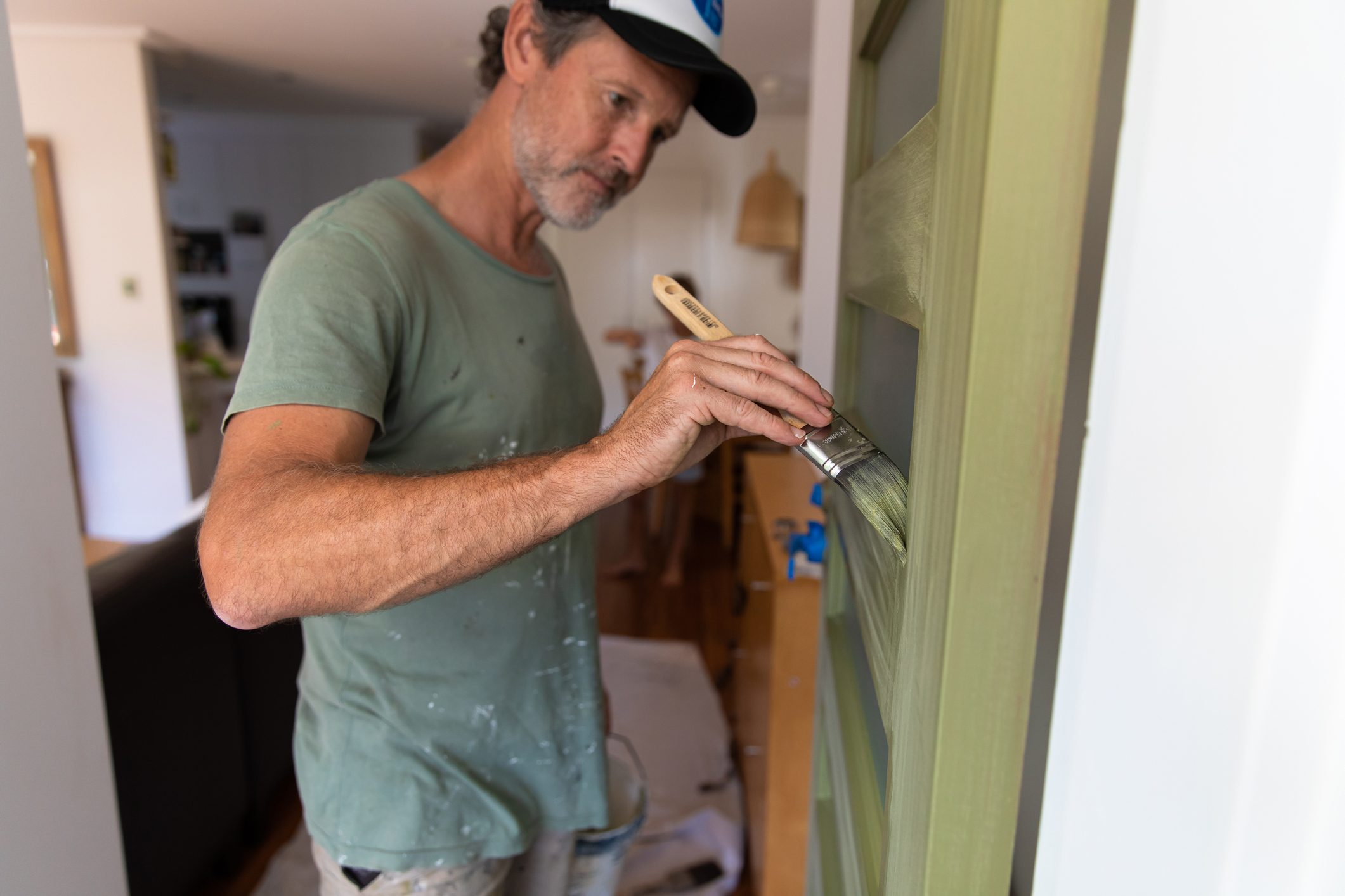 Painting our front door