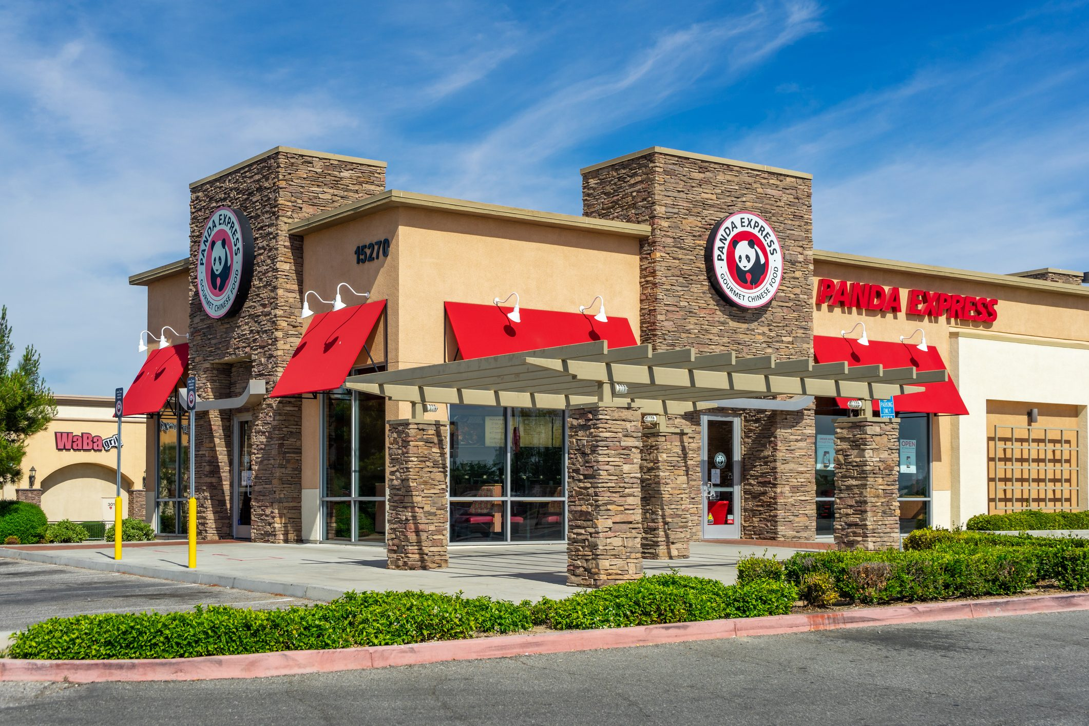 Panda Express restaurant in Victorville, California