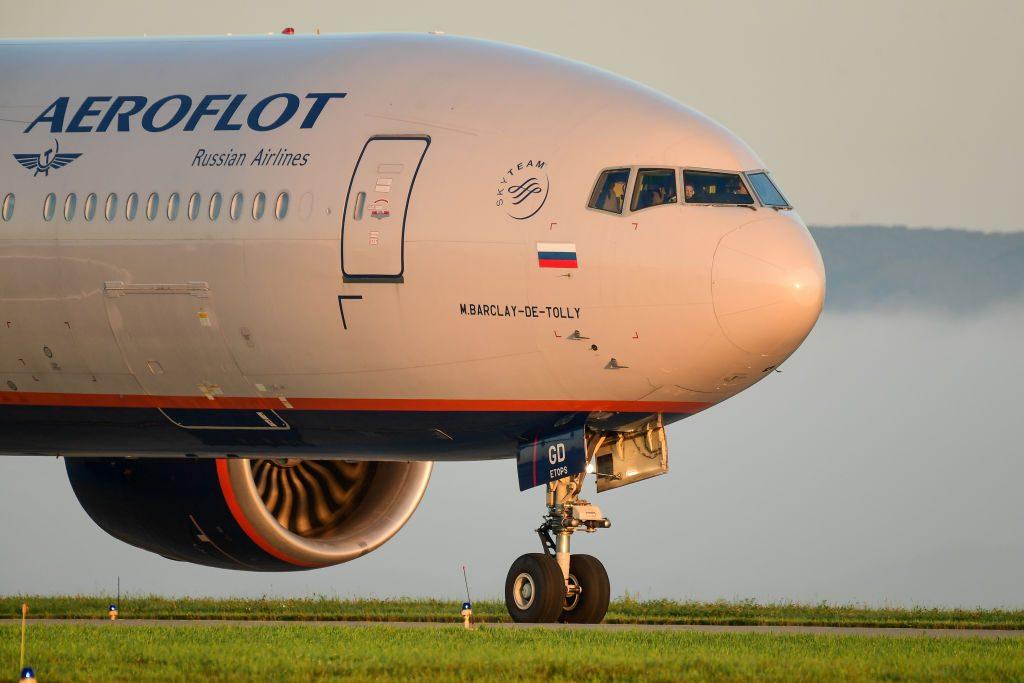 Plane spotting at Vladivostok International Airport