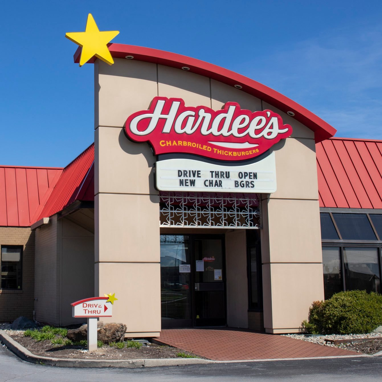 Hardee's Location. Hardee's is offering Uber and Door Dash delivery and drive thru service during social distancing.