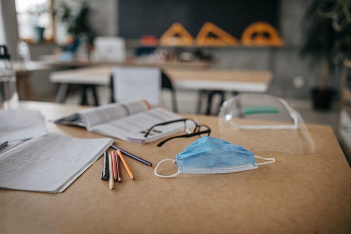 School supplies in time of virus