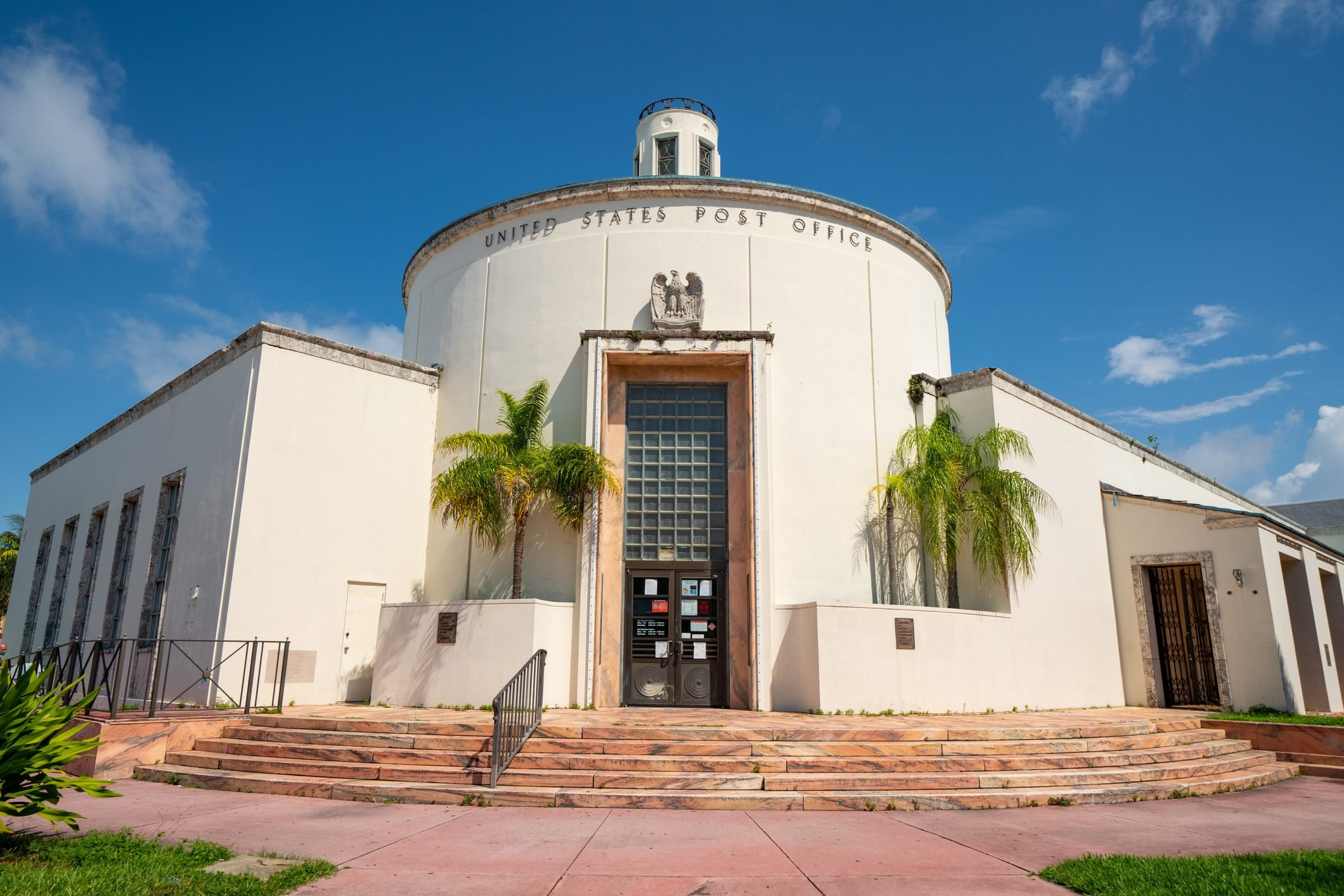 Photo USPS United States Post Office Miami Beach historic location