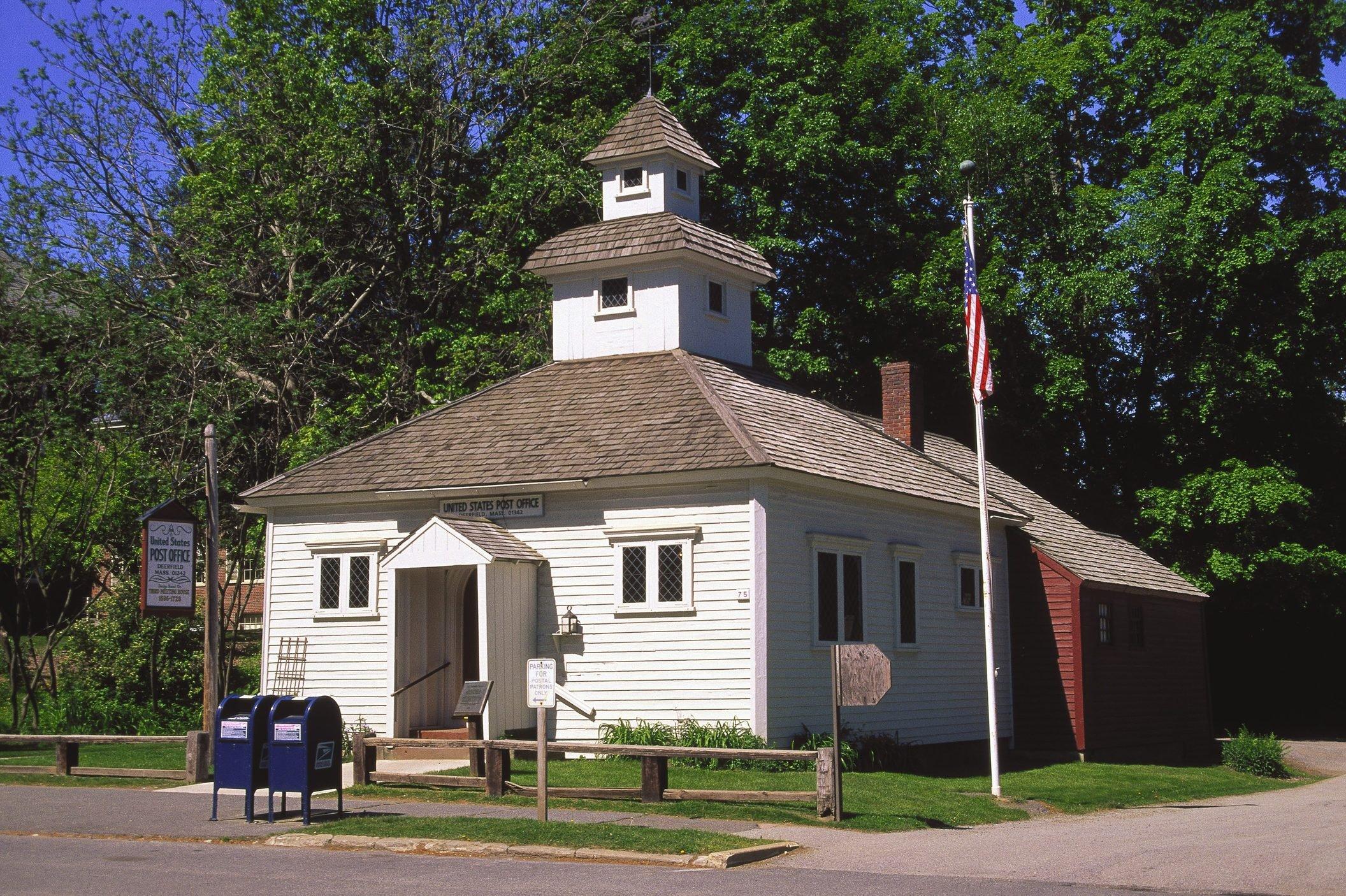 US Post Office, Historic Deerfield, MA