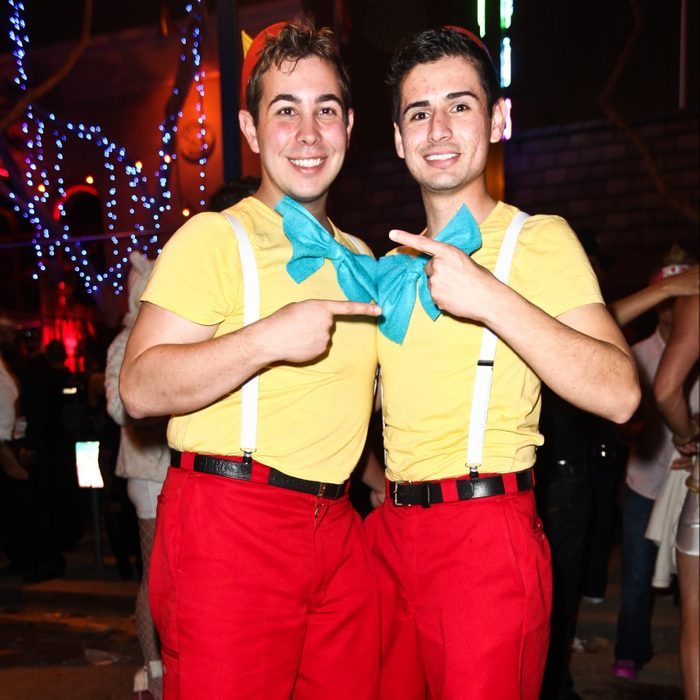 tweedle dee and tweedle dum diy costume