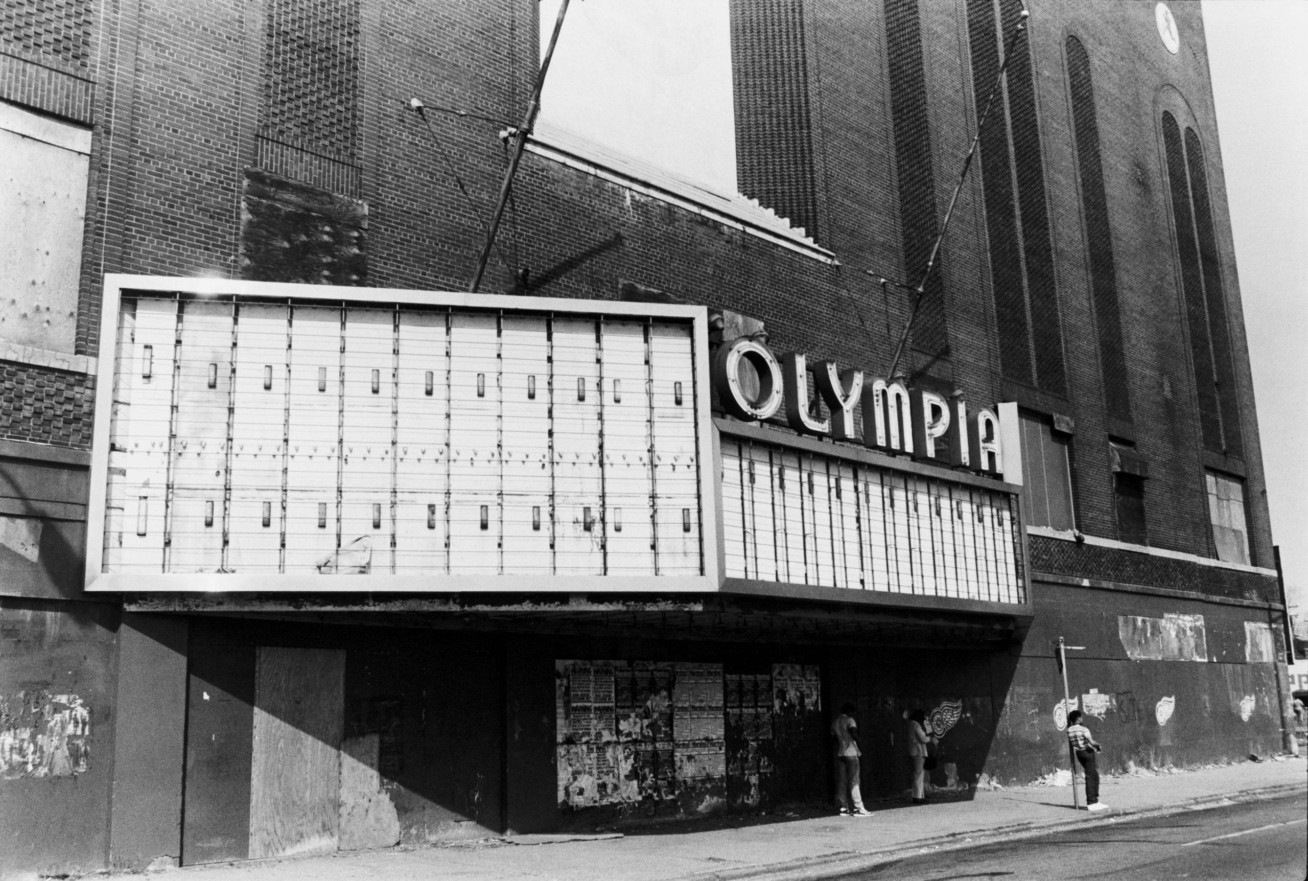 Olympia Stadium In Detroit