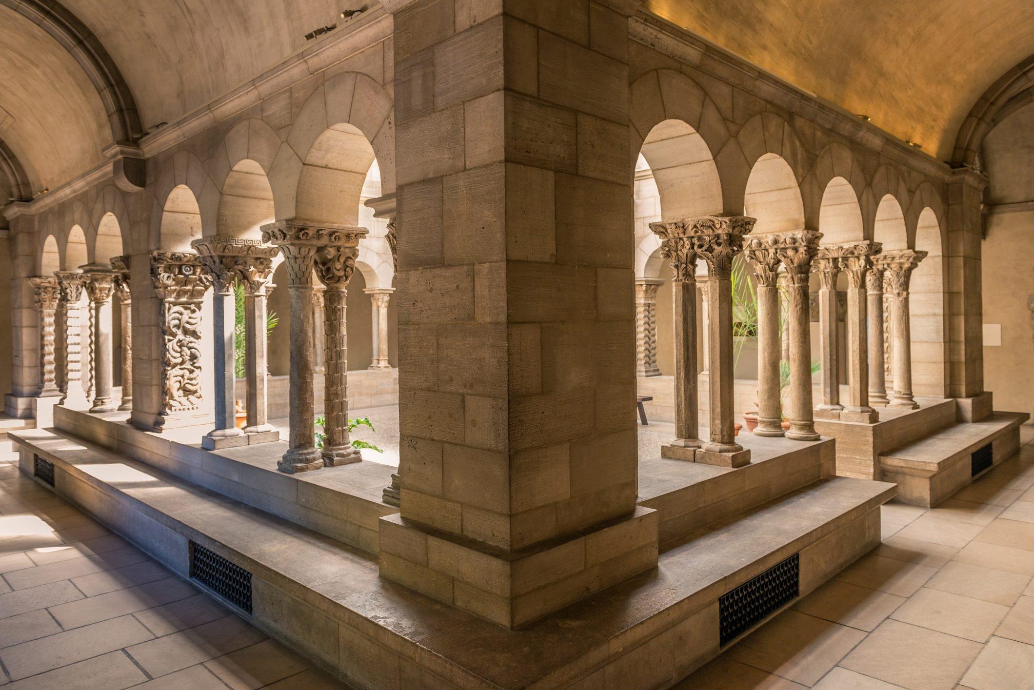 Cloister arch