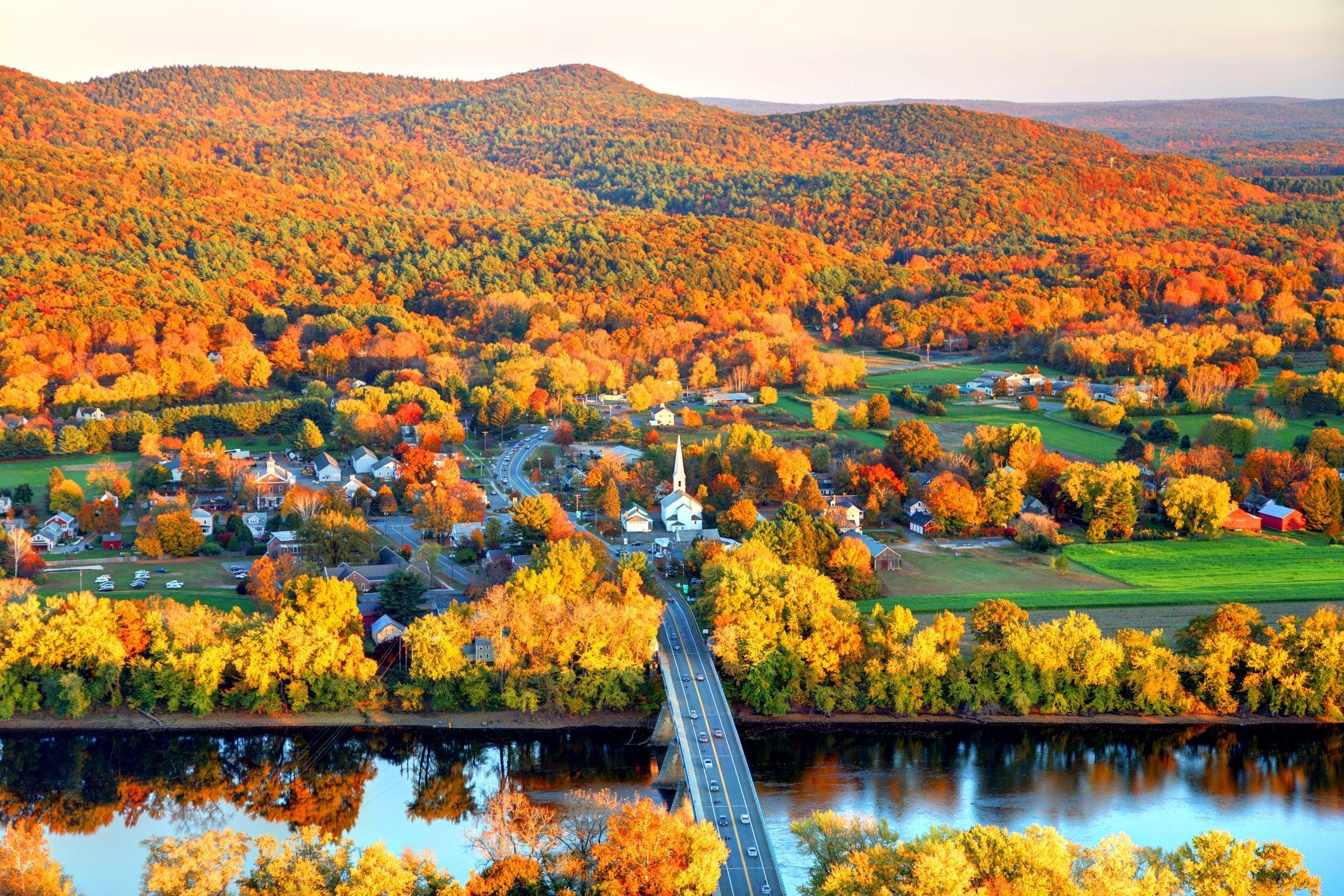 Pioneer Valley in Autumn