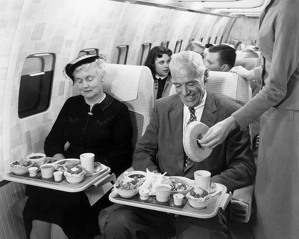 Passengers Inside 707 Stratoliner Mock-up