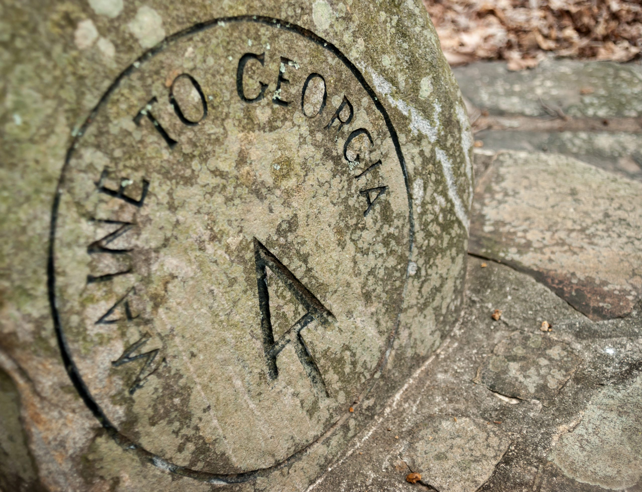 AT Stone Marker