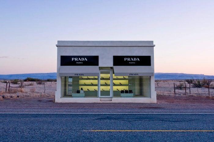 Art Installation of Prada Store