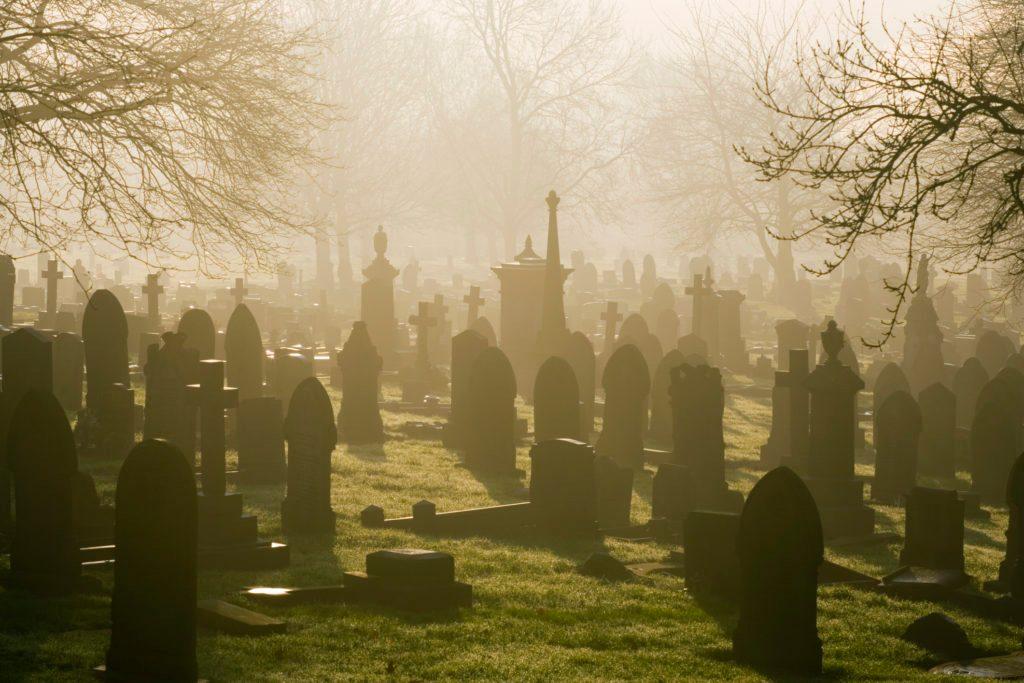 Misty Cemetery