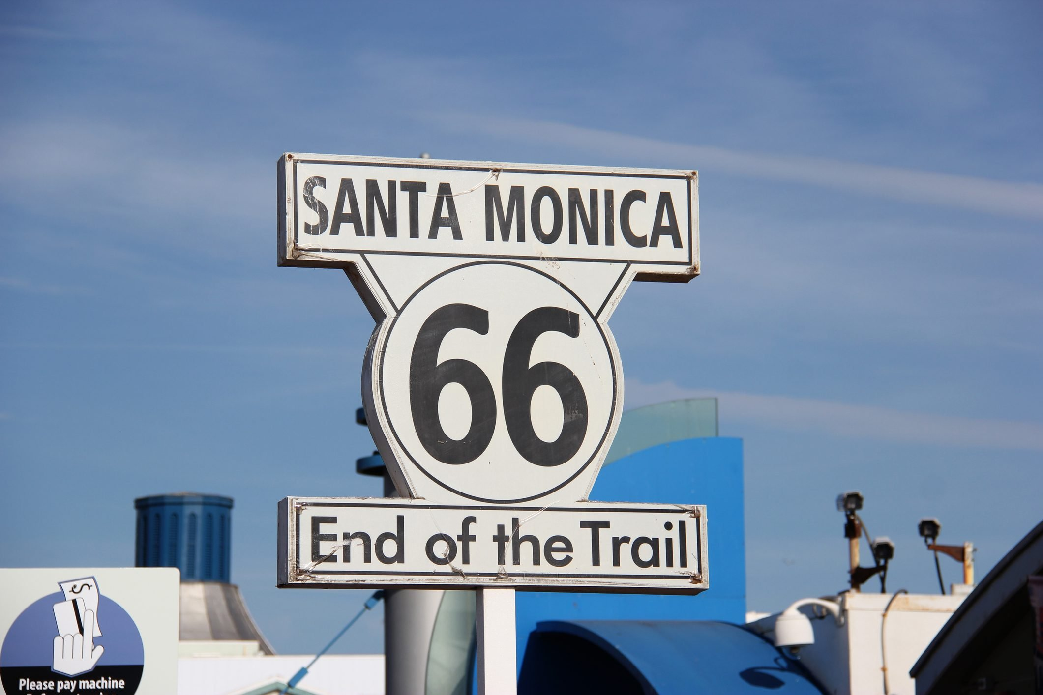 The Historic Route 66 Sign