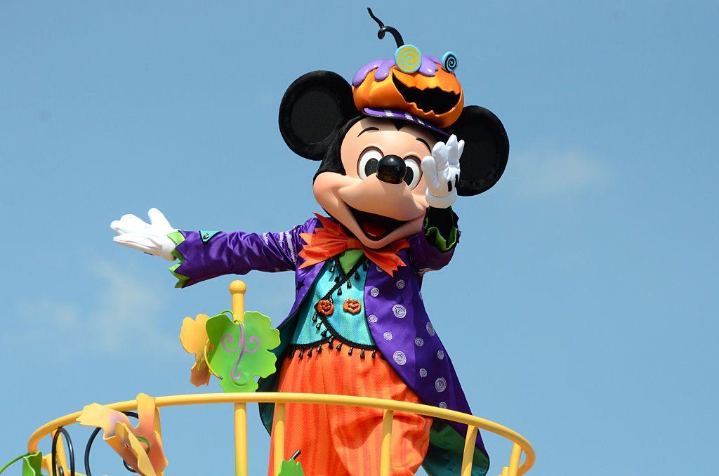 Happy Halloween Harvest Parade in Tokyo Disneyland