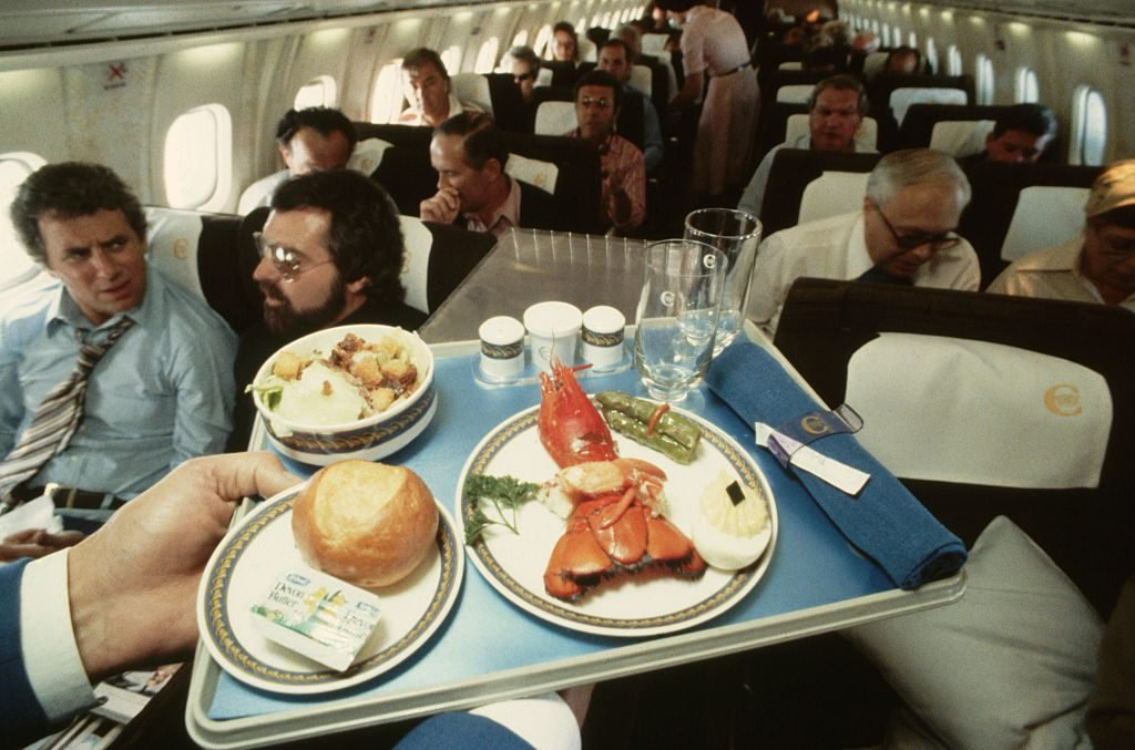 Meal Aboard the Concorde