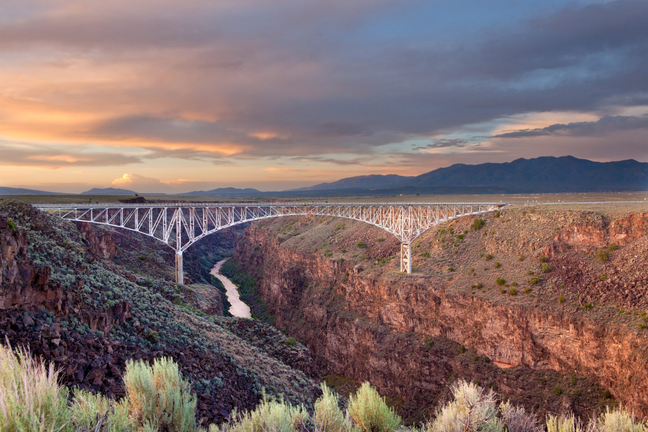 Rio Grande Gorge Bridge, Taos County, New Mexico