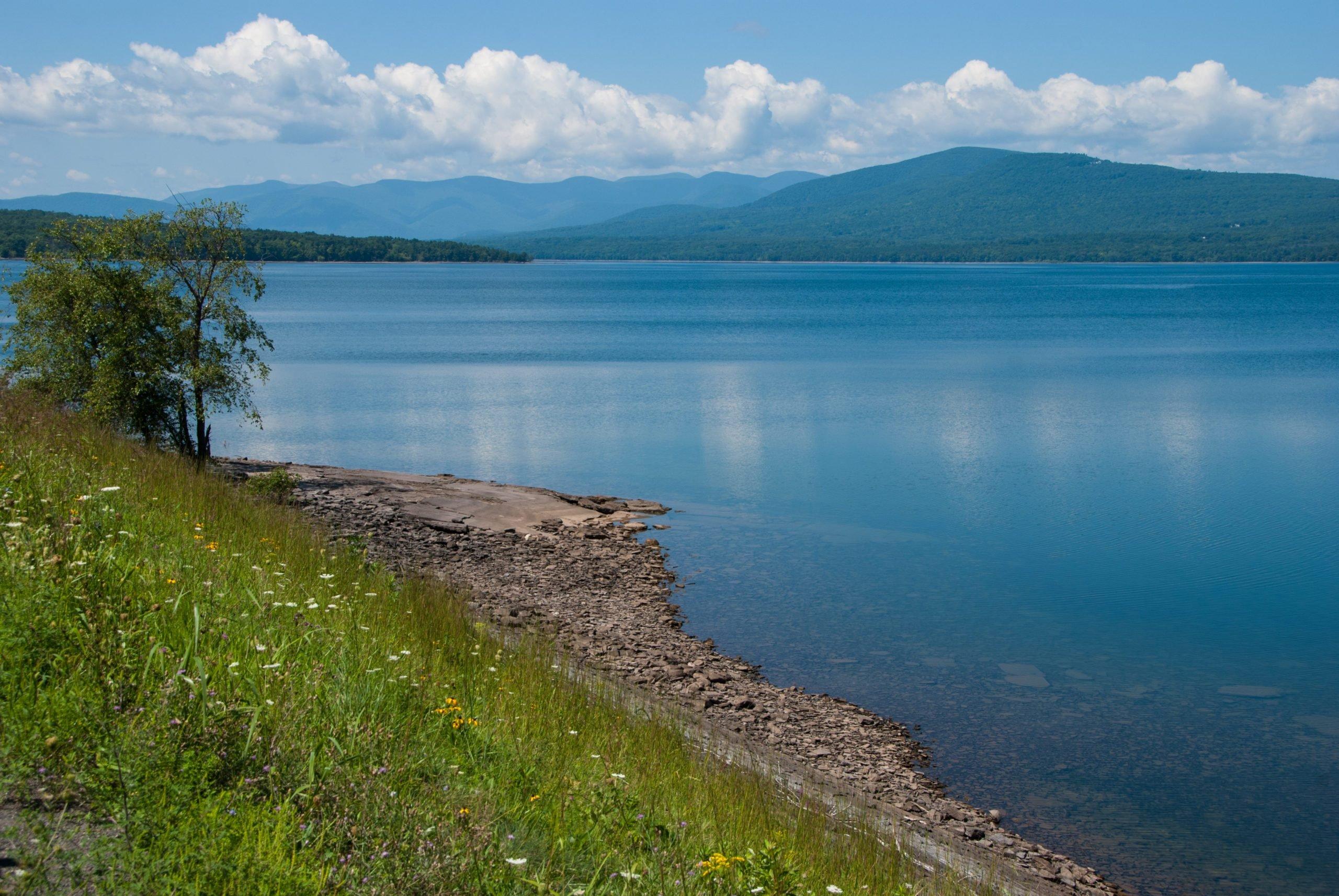 Ashokan Reservoir and the Catskills