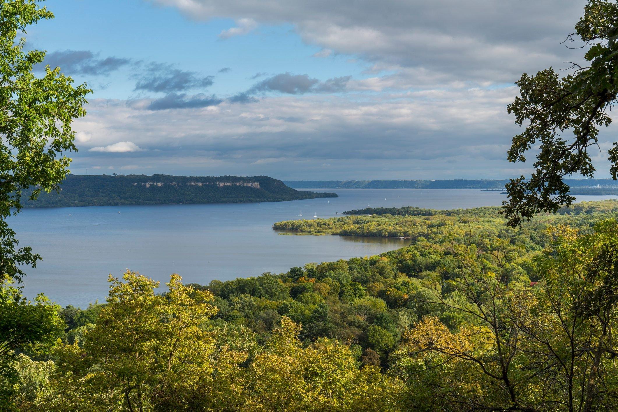 Mississippi River Lake Pepin