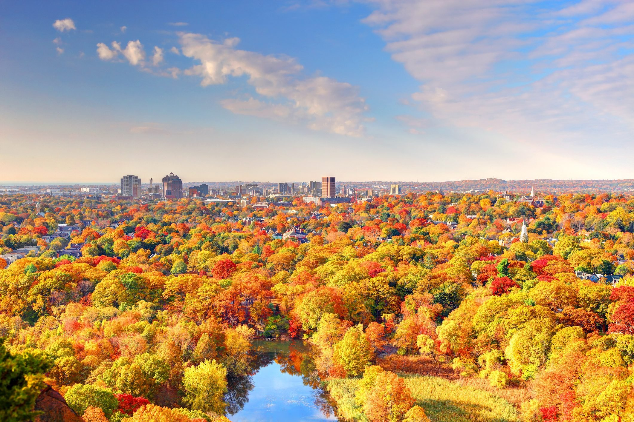 Autumn in New Haven