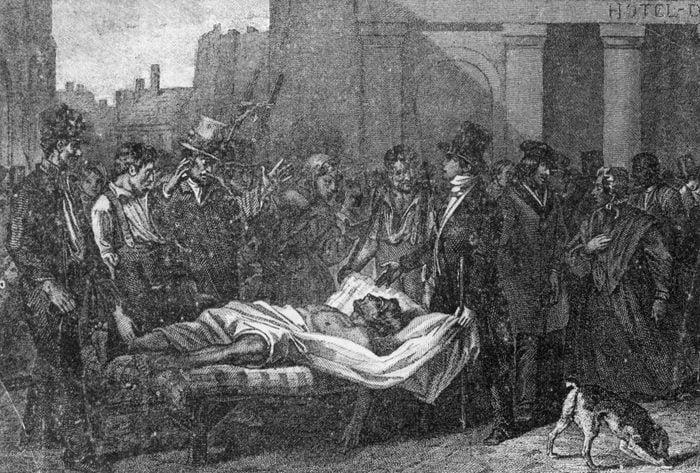 Cholera In Paris