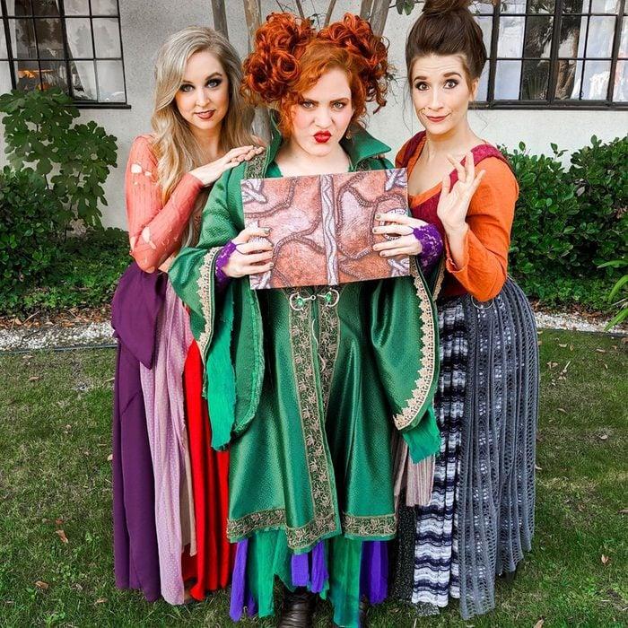 Hocus Pocus Sisters Halloween Costume