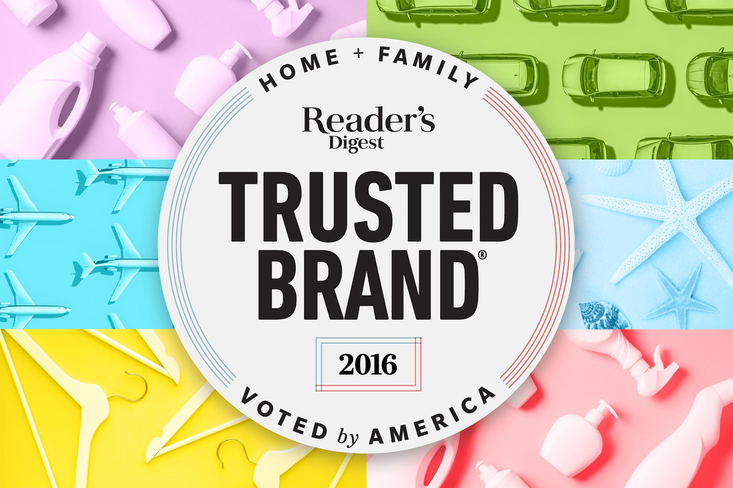Reader's Digest Trusted Brands 2016