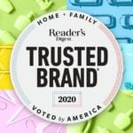 The 2020 Reader's Digest Most Trusted Brands in America