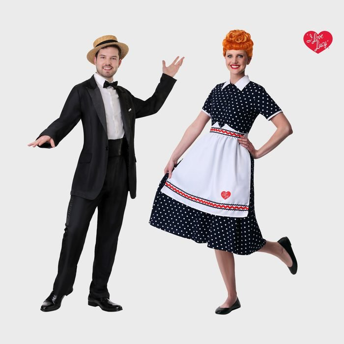 I Love Lucy Couples Halloween Costume