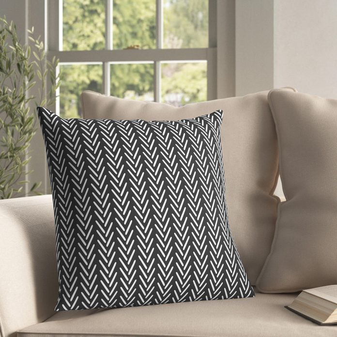 Laverriere Indoor/Outdoor Striped Throw Pillow from wayfair