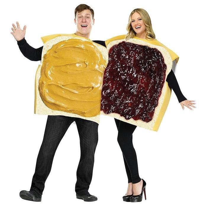 Peanut Butter And Jelly Halloween Costume