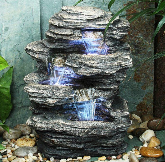 Resin Rock Fountain