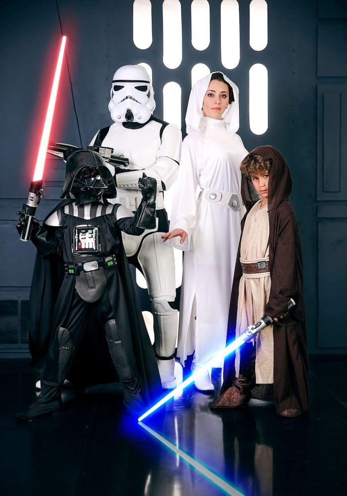 Starwars family costume