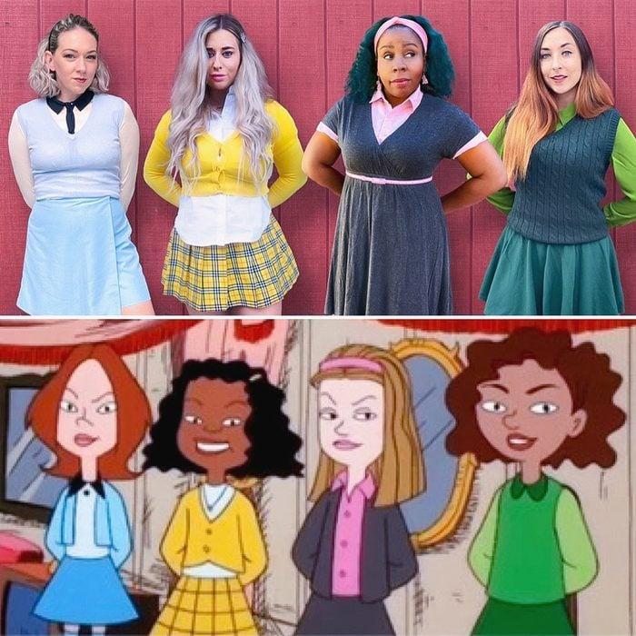 The Ashleys Halloween Costume