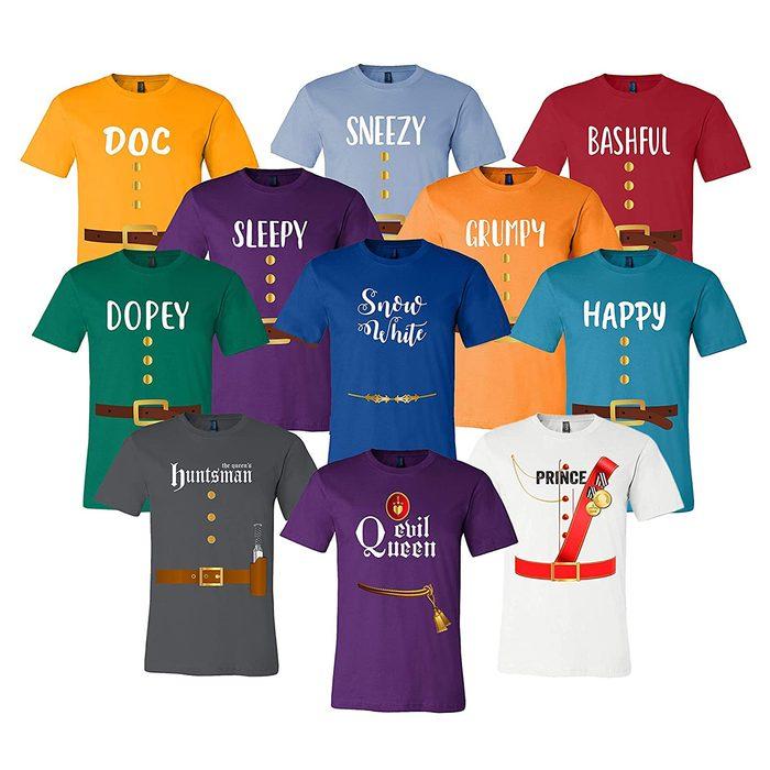 The Seven Dwarfs Halloween Costume
