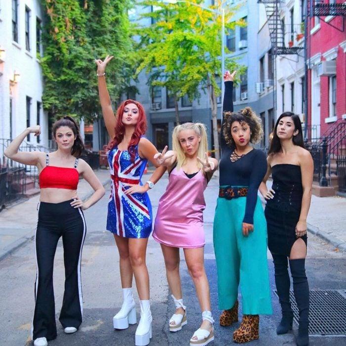 The Spice Girls Halloween Costume