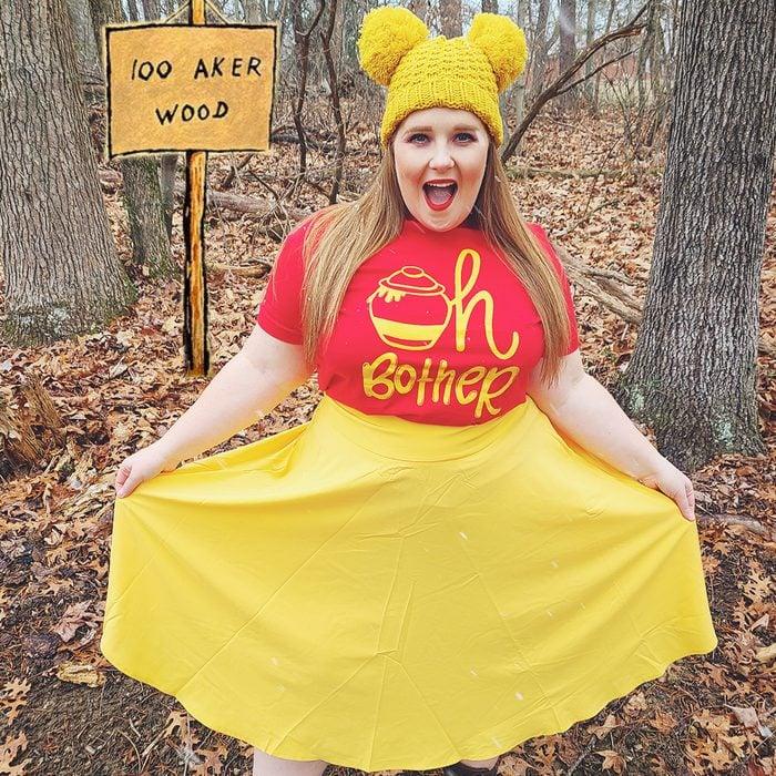 Winnie The Pooh Halloween Costume The Disney Ginger