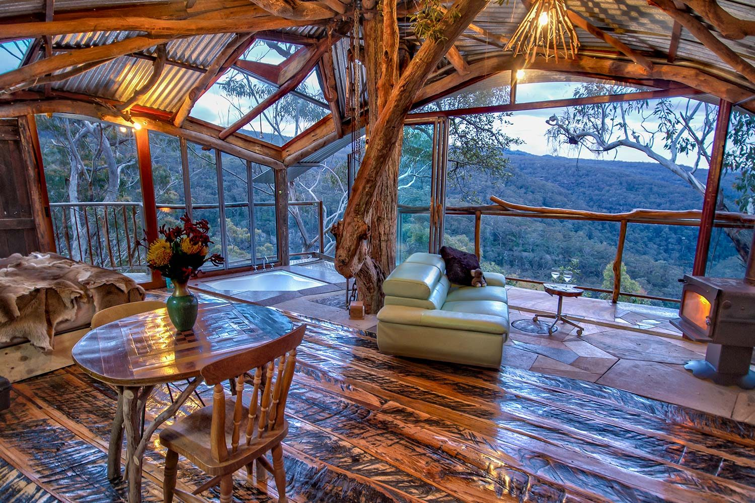 wollemi treehouse hotel Jochen Spencer