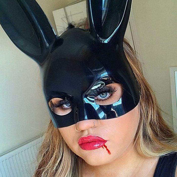 Ariana Grande Bunny Halloween Makeup