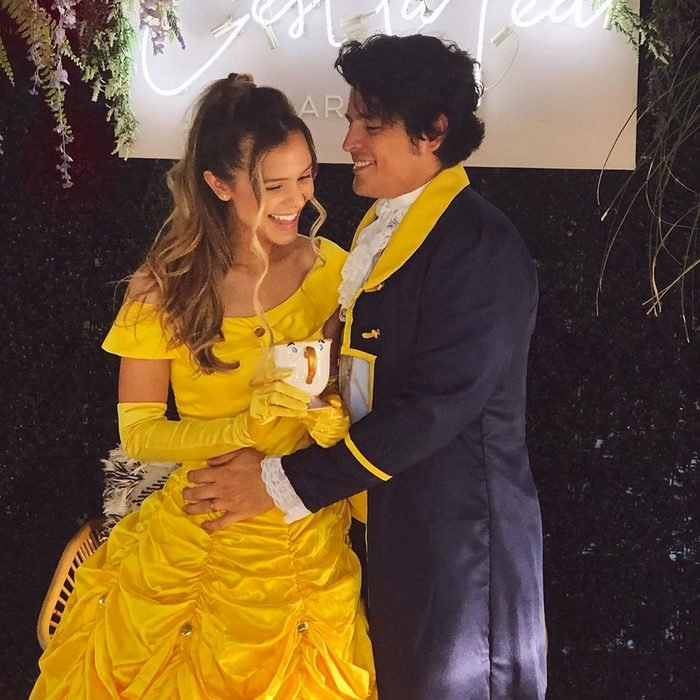 beauty and the beast couples halloween costume