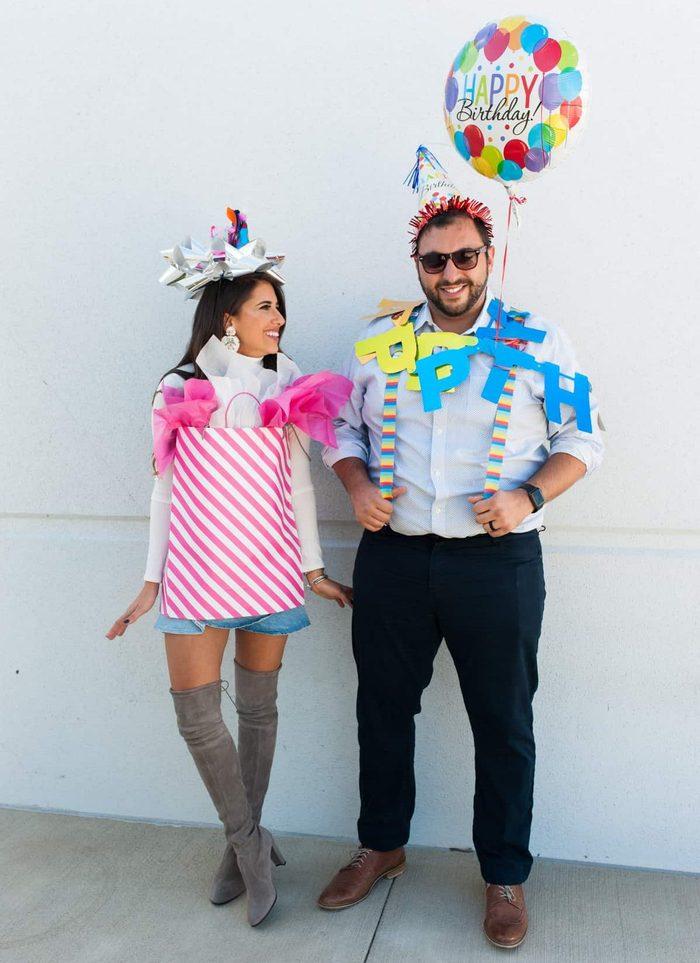 Birthday Couple Halloween Costume