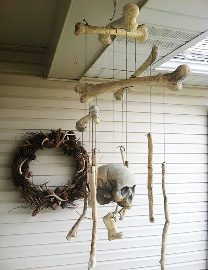 Bone Mobile Halloween Decoration